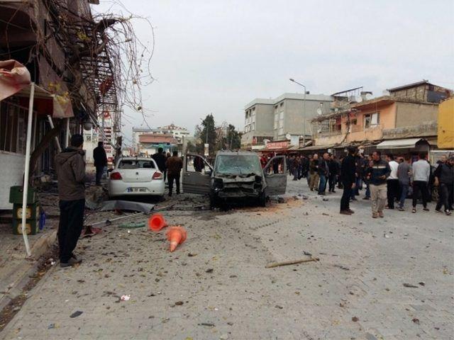 Afrin'den Reyhanlı'ya roketli saldırı!