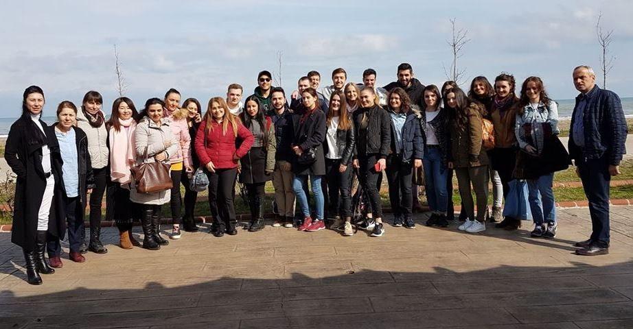16 Yabancı öğrenci OMÜ ile tanıştı