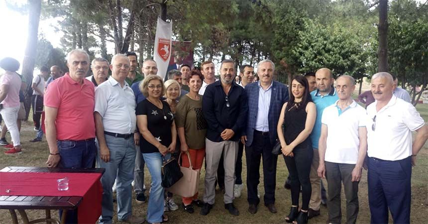 İYİ Parti'den Samsunspor'a ziyaret