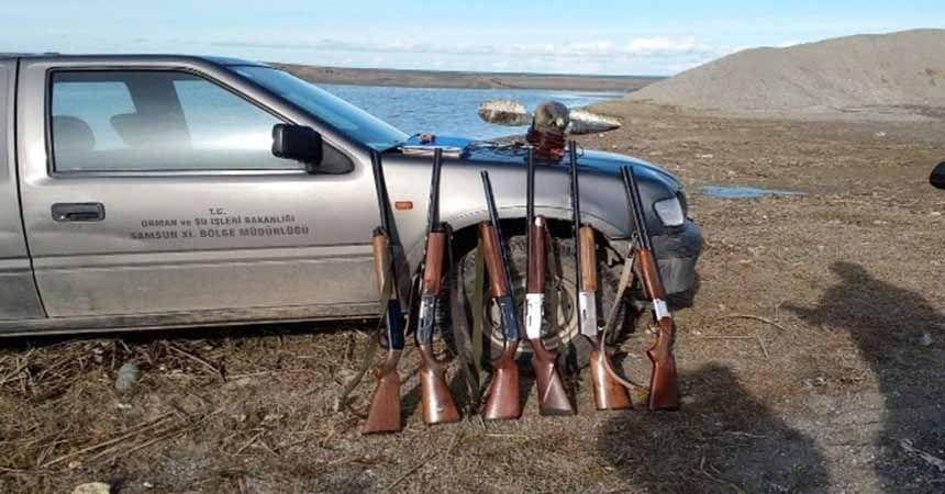 Ordu'da avcılar cezaya doymuyor
