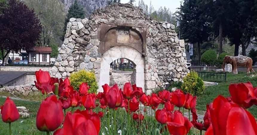 'Amasya açık hava müzesi görünümünde'