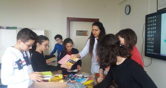 Köy okulları için kırtasiye kampanyası