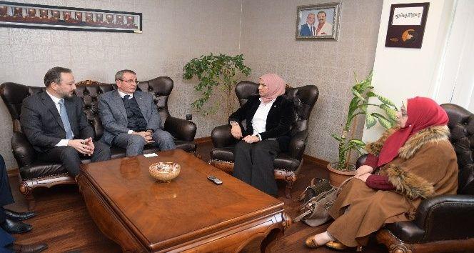 Iraklı vekiller Samsun'da