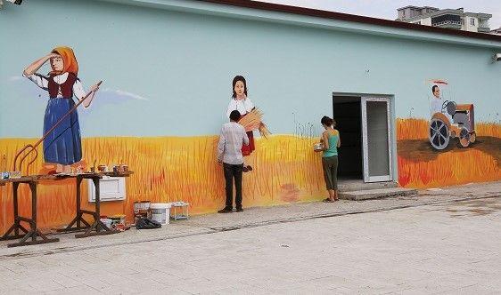 AtaTohum Merkezi sanatla renklendi