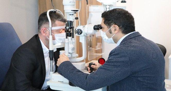 Korona stresi göz sağlığını etkiliyor