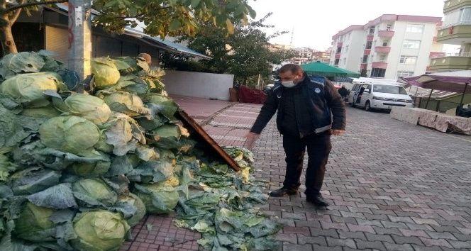 Pazarcıya lahana cezası
