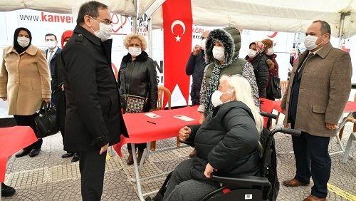 Başkan Demir'den kan bağışı çağrısı
