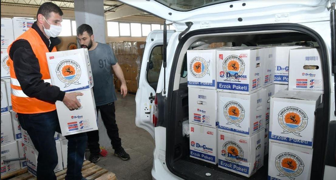 Büyükşehir'den ramazan yardımı
