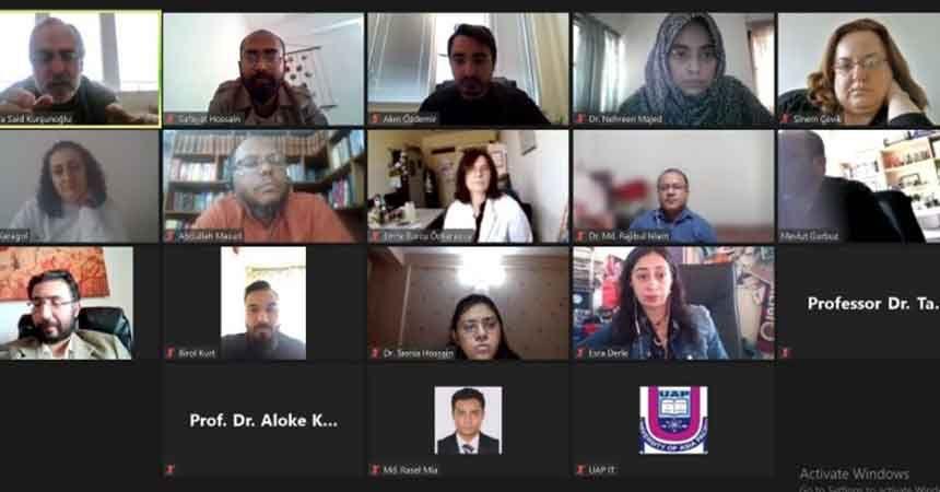 OMÜ ile Bangladesh Asia-Pasific University arasında iş birliği