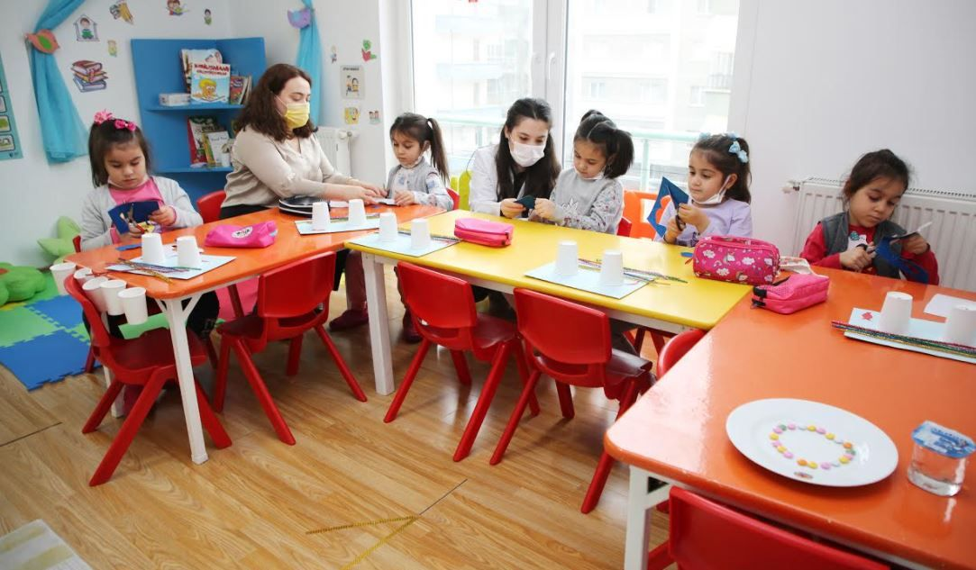 Sağlıkçı çocuklarına öncelik
