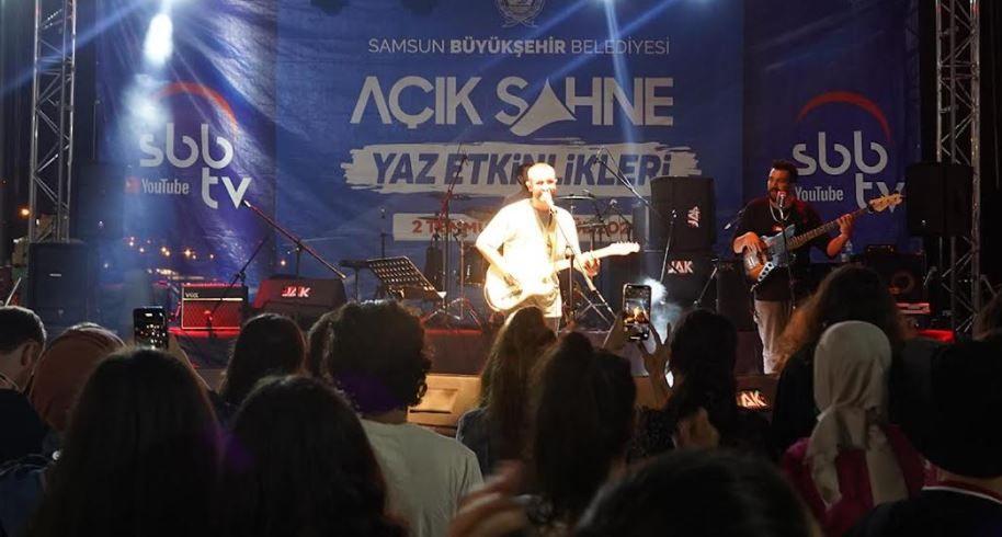 Atakum'da müzik şöleni