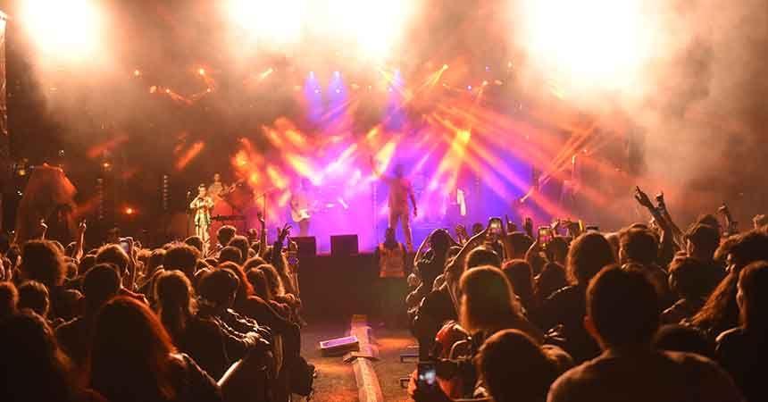 Atakum'da müzik şöleni sona erdi
