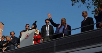 Başbakan, Trabzon'dan Kılıçdaroğlu'na seslendi