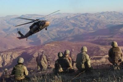 Aliboğazı'nda 8 terörist ölü ele geçirildi