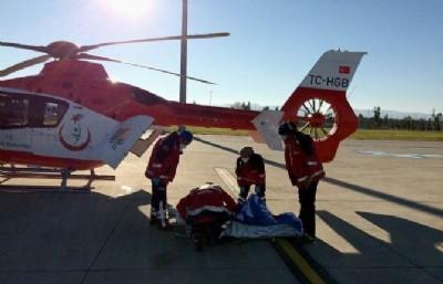 Enver için helikopter seferberliği