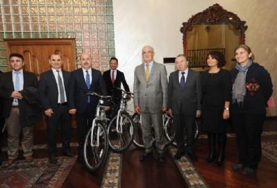 Büyükşehire bin 200 bisiklet