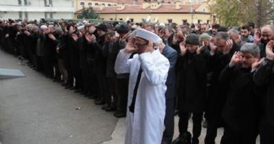 Halep'te ölenler için gıyabi cenaze namazı