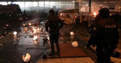 İstanbul'da bombalı saldırı: En az 60 yaralı