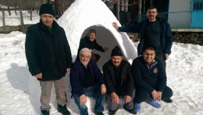 Kabadüz'de eskimo evi