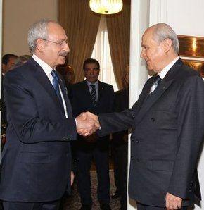 Kılıçdaroğlu ve Bahçeli anayasa için buluşacak