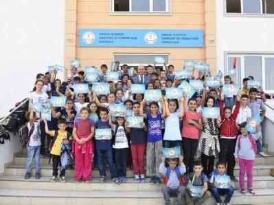 Tekkeköy Belediyesi'nden eğitime destek