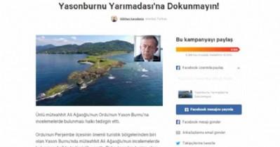 Ağaoğlu, aleyhine başlatılan kampanyaya destek verdi