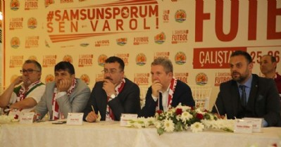 Samsunspor'u masaya yatırdılar