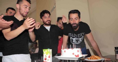 Ahmet Altın'a sürpriz doğum günü