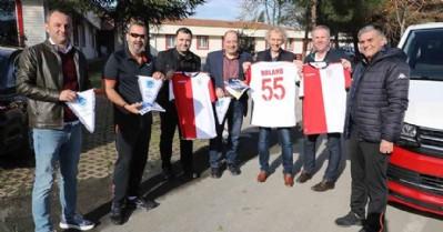 Cenk ekibi Samsunspor altyapısını inceledi