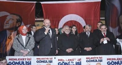 Tekkeköy'de Cumhur İttifakına destek