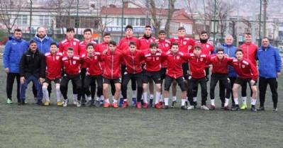 Samsunspor U-16 takımı çalışmalarını sürdürüyor