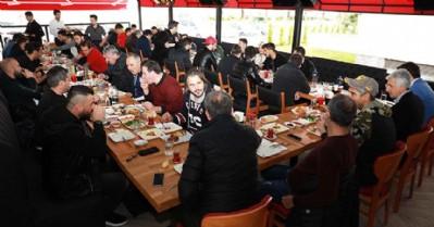 Samsunspor'a moral kahvaltısı