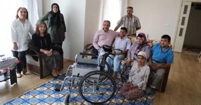 Engelli aileye umut oldular