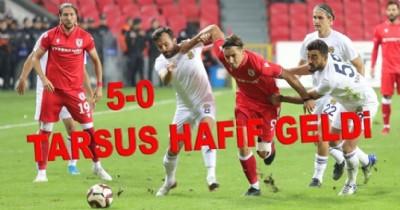 Samsunspor Tarsus'u gole boğdu