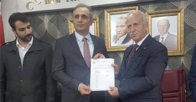 MHP Atakum'da bayrak değişimi tamam