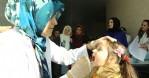 Canik'te çocuklara ağız taraması