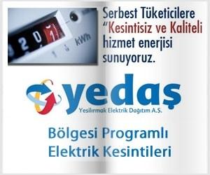 YEDAŞ - Bölgesi Programlı Elektrik Kesintileri